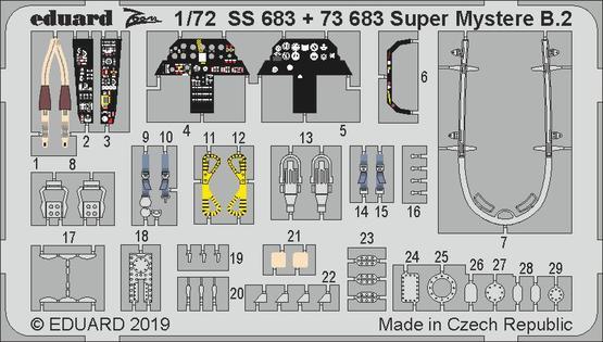 Super Mystere B.2 1/72