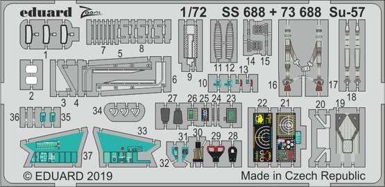 Су-57 1/72  - 1