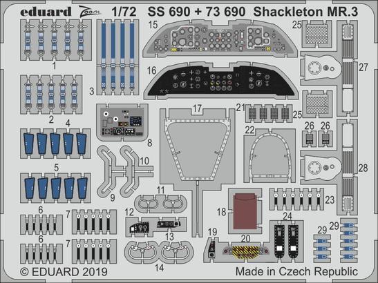 Shackleton MR.3 1/72