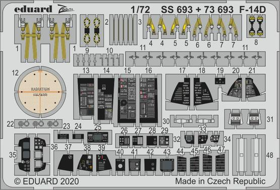 F-14D 1/72
