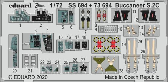 バッカニア S.2C 1/72  - 1