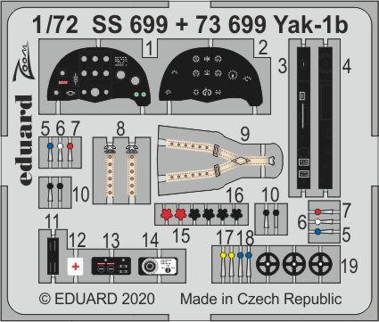 Yak-1b 1/72