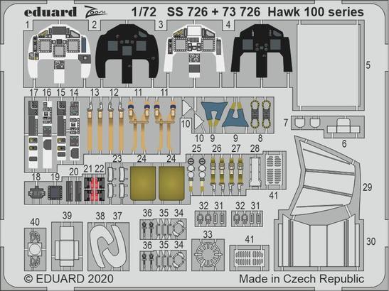 Hawk 100 series 1/72