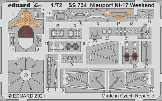 Nieuport Ni-17 Weekend 1/72