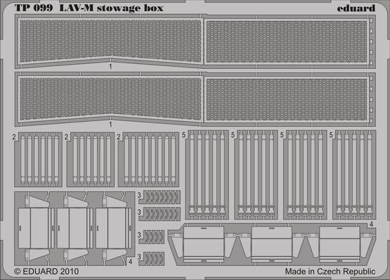 LAV-M stowage box 1/35