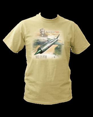 T-shirt MiG-21PFM (L) - Rezavá Vrtule  - 1