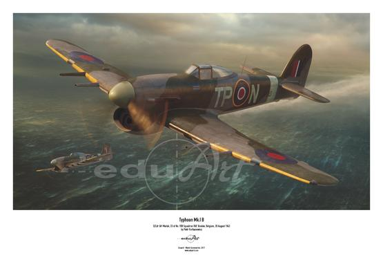 Poster - Typhoon Mk.I B Car Door