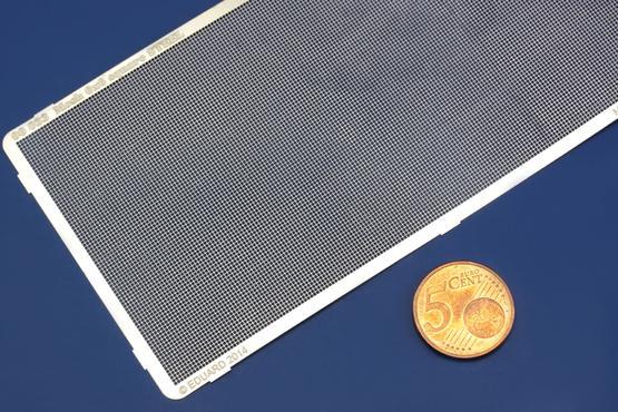 メッシュ 6x6 四角形 スチール  - 2