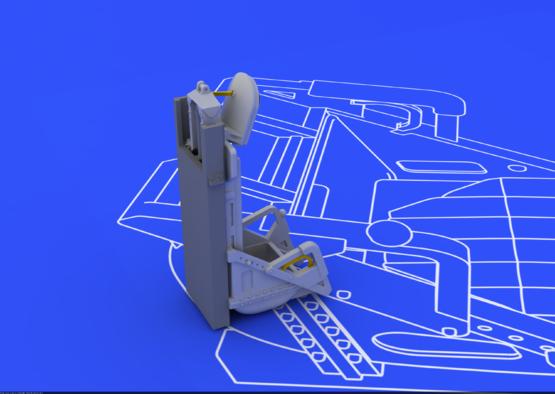 МиГ-15 кресло 1/72  - 2