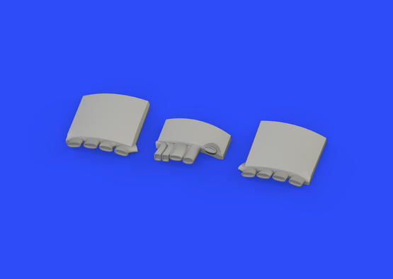 Fw 190A exhaust stacks 1/48  - 2