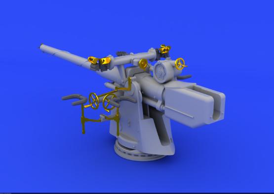 German Submarine 10,5cm gun  1/72 1/72  - 2