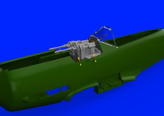 Fw 190D fuselage guns 1/48  - 2