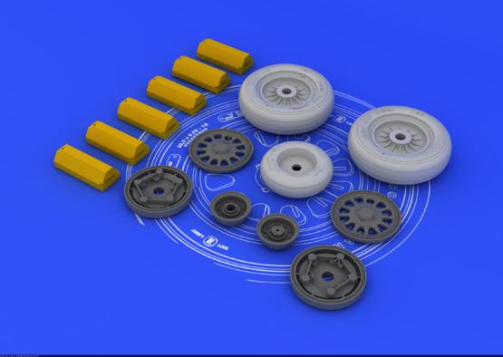 F-117A wheels  1/32 1/32  - 2