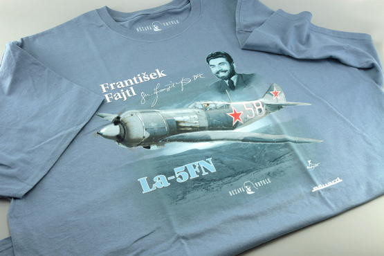 První doma + T-shirt František Fajtl (XL) 1/48  - 2