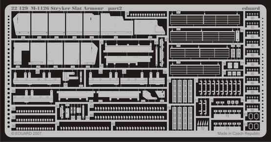 M-1126 slat armour 1/72  - 2