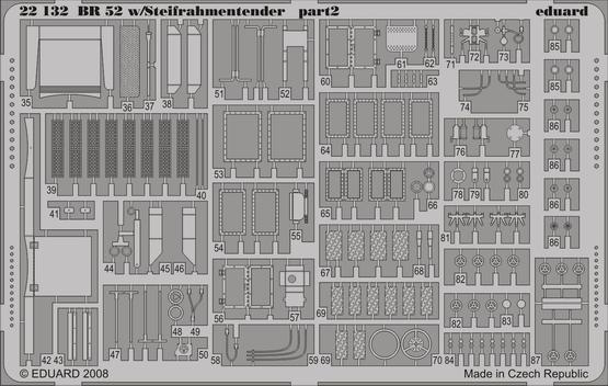 BR 52 w/Steifrahmentender p. 1 1/72  - 2