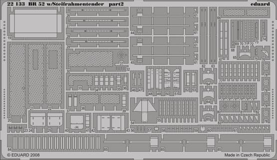 BR 52 w/Steifrahmentender p. 2 1/72  - 2