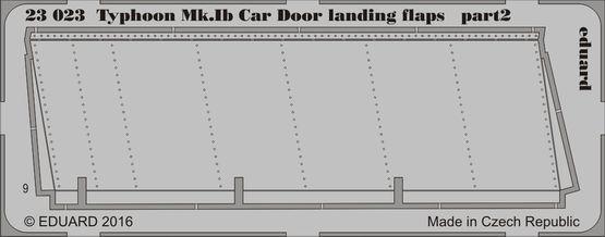 Typhoon Mk.Ib Car Door landing flaps 1/24  - 2