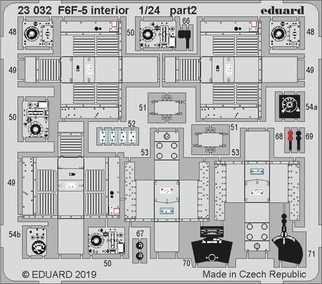 F6F-5 interior 1/24  - 2