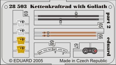 Kettenkraftrad with Goliath 1/48  - 2