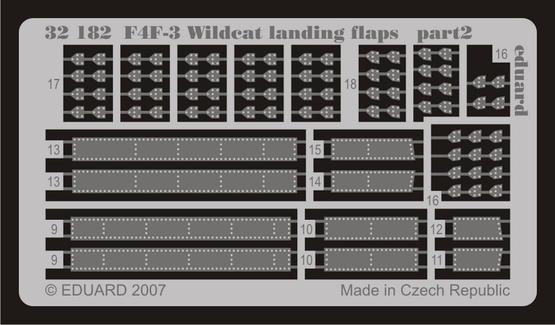 F4F-3 landing flaps 1/32  - 2