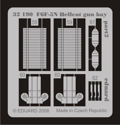 F6F-5N gun bay 1/32  - 2