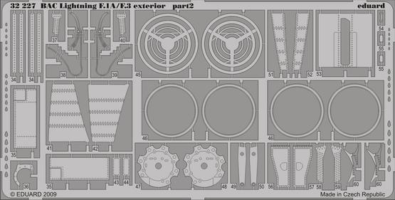 BAC Lightning F.1A/F.3 exterior 1/32  - 2