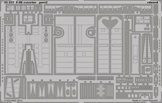 F-8E exterior 1/32  - 2