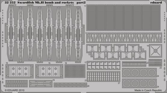 Swordfish Mk.II  bombs and rockets 1/32  - 2