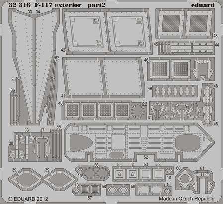 F-117 exterior 1/32  - 2