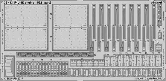 F4U-1D engine 1/32  - 2