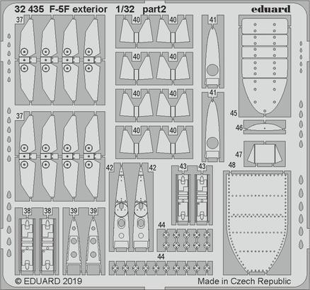 F-5F экстерьер 1/32  - 2