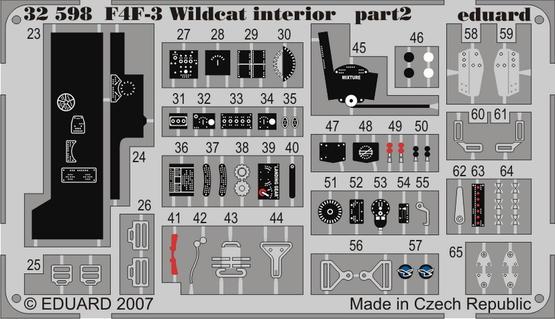 F4F-3 interior S.A. 1/32  - 2