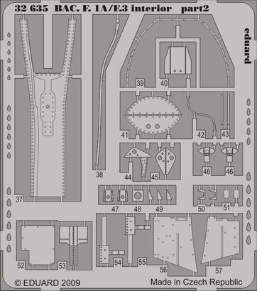 BAC Lightning F.1A/F.3 interior S.A. 1/32  - 2