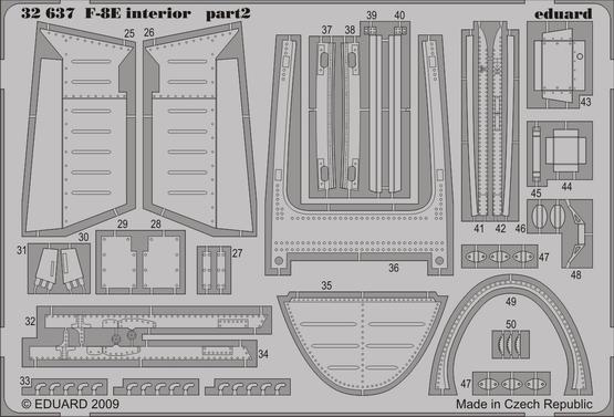F-8E interior S.A. 1/32  - 2