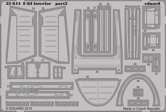 F-8J interior S.A. 1/32  - 2