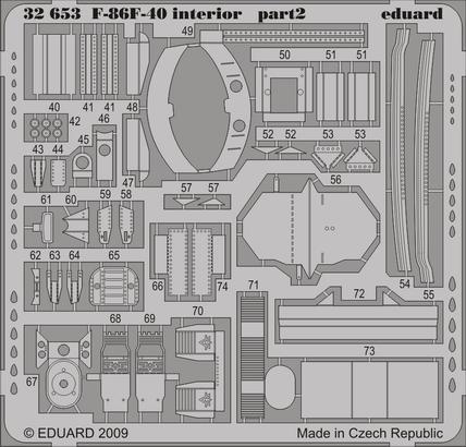 F-86F-40 interior S.A. 1/32  - 2