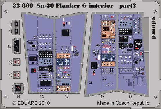Su-30 Flanker G interior S.A. 1/32  - 2