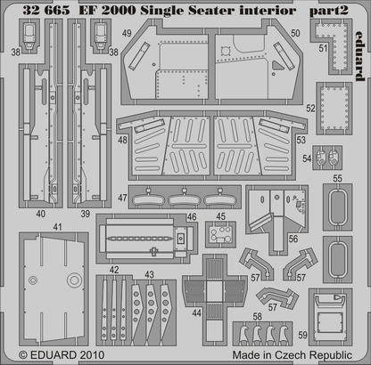 EF 2000 Single Seater interior S.A. 1/32  - 2