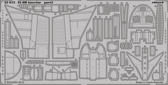 AV-8B interior S.A. 1/32  - 2