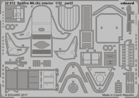 Spitfire Mk.IXc интерьер 1/32  - 2