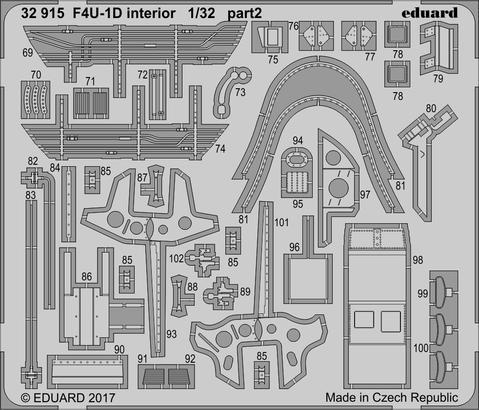 F4U-1D interior 1/32  - 2