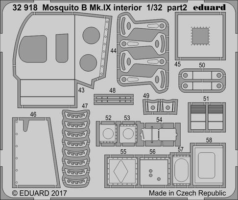 モスキート B Mk.IX 内装 1/32  - 2