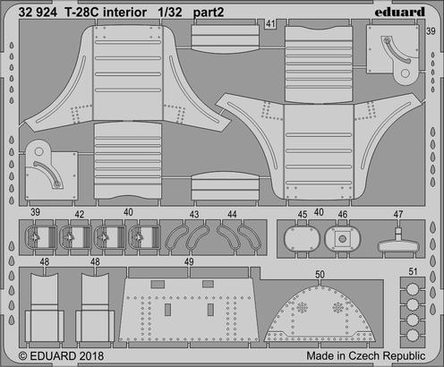 T-28C interior 1/32  - 2