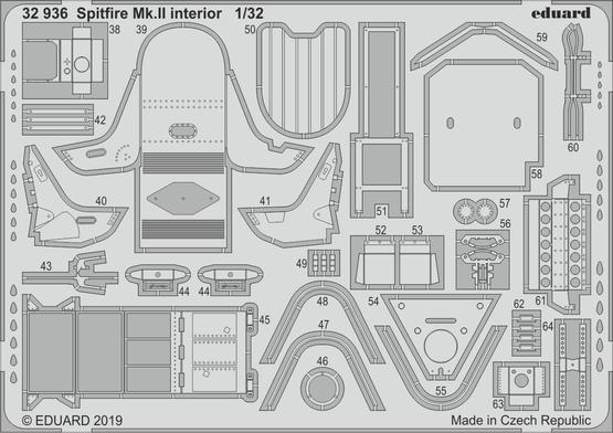 Spitfire Mk.II interior 1/32  - 2