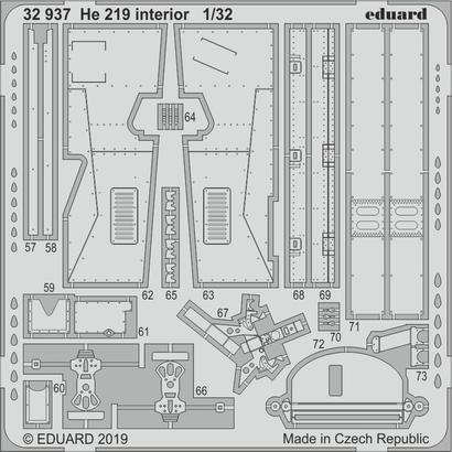 He 219 interior 1/32  - 2