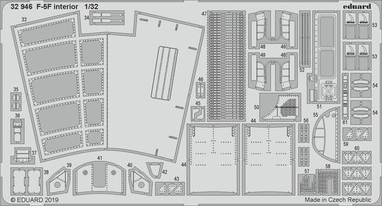 F-5F interiér 1/32  - 2