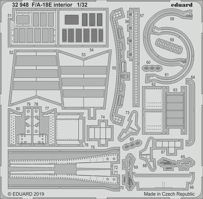 F/A-18E интерьер 1/32  - 2