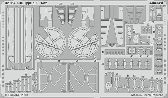I-16 Type 10 1/32  - 2