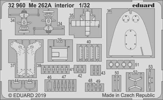 Me 262A interior 1/32  - 2